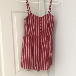 Red Tilly's Romper